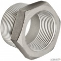 REDUCCION BUSHING ROSCADO 150 T316 1 1/2 X 1 1/4