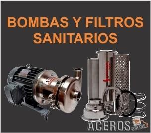 Bombas y filtros sanitarios