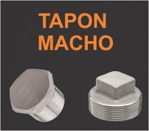Tapones macho 150Lb