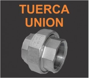 Tuercas union 3000Lb
