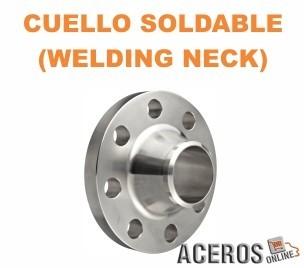 Cuello soldable (Welding neck)