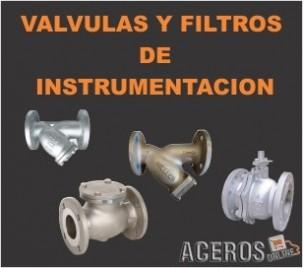 Valvulas y filtros  de instrumentacion