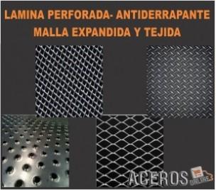 Lamina perforada - antiderrapante